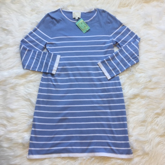 be8dd5bafa8 Sail to Sable Striped Sweater Dress